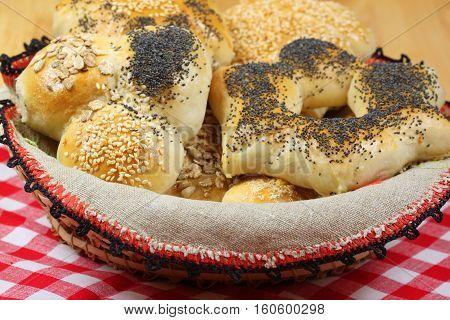 Bread Rolls Basket