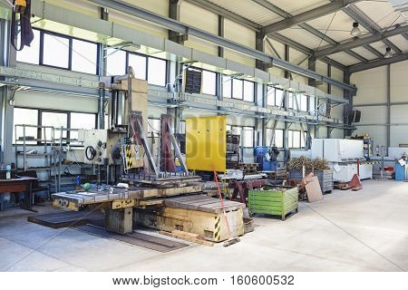 Machinery in manufacturing industry