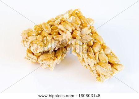 Peanuts Sweets ( Mawlid Halawa )- Egyptian Culture Dessert usually Eaten During Prophet Muhammad Birth Celebration