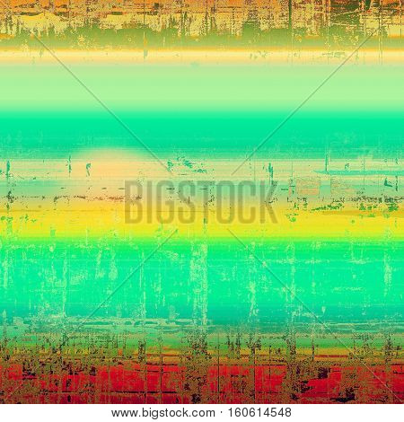 Art vintage texture, decorative grungy background. With different color patterns: yellow (beige); brown; green; blue; red (orange); cyan