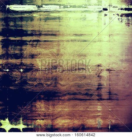 Elegant vintage background, antique texture. Designed grunge template with different color patterns: yellow (beige); brown; green; blue; gray; purple (violet)