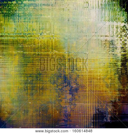 Highly detailed grunge background or scratched vintage texture. With different color patterns: yellow (beige); brown; green; blue; purple (violet); white