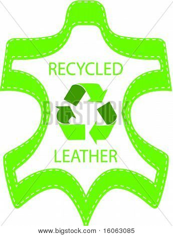 Recycle Leather Label