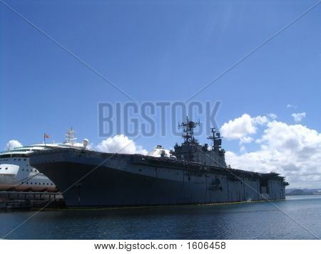 Military Aircraft Carrier