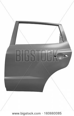 New car door isolated on white background