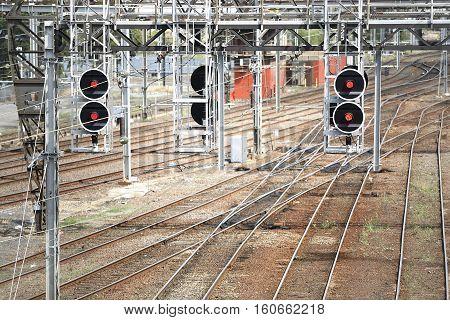 Railway Yard Melbourne