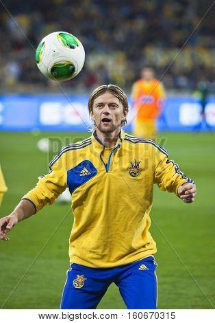 Anatoliy Tymoshchuk Of Ukraine