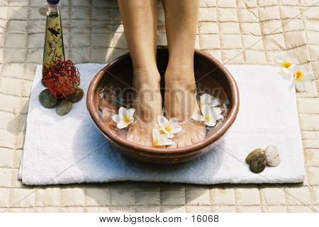 Aromatherapie-Footsoak