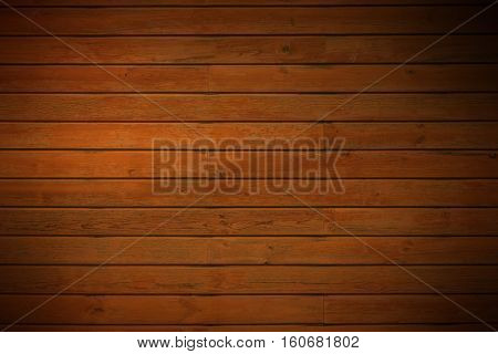 dark brown wooden panels