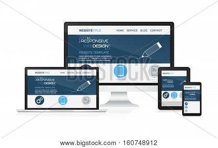 Responsive Design And Web Devices.