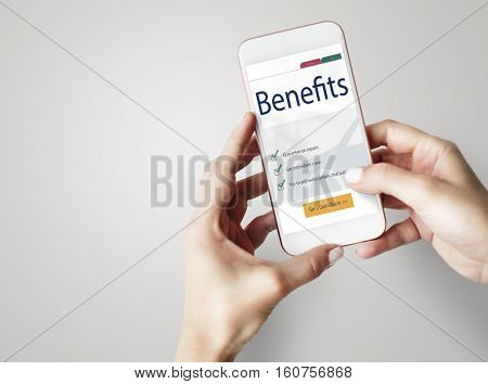 Smartphone Social Media Concept