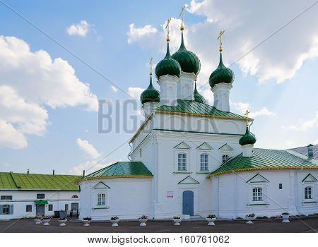 Church of Saviour in ranks Kostroma Golden ring of Russia