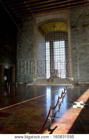 Ankara, Turkey. October 5Th 2016 - Ataturk Mausoleum, Anitkabir, Monumental Tomb Of Mustafa Kemal At