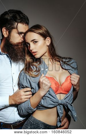 Young Loving Sexy Couple