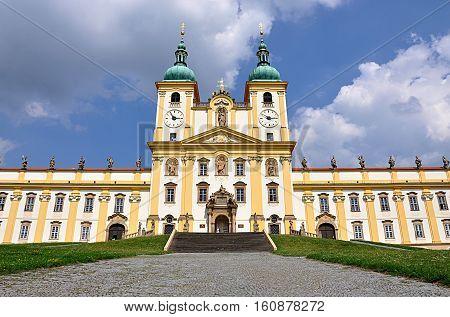 Catholic monastery, the town of Olomouc, Moravia, Czech Republic, Europe