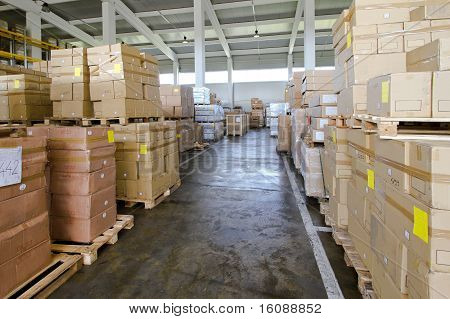 Storehouse Corridor