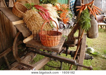 Carriage Full Of Vegetables 2