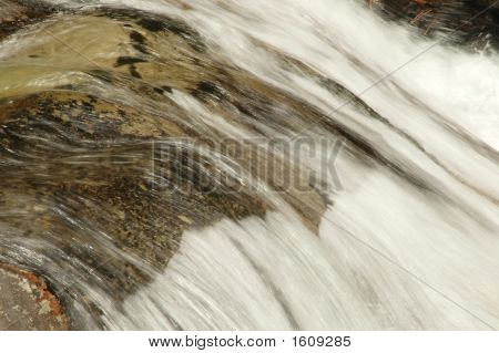Fast Stream Of Water