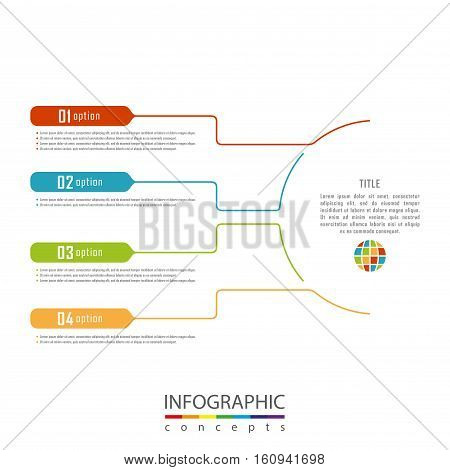 Infographic timeline template can be used for chart, diagram, web ...