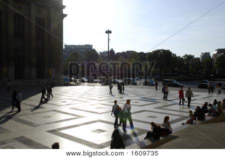 the Place du Trocadero Paris France