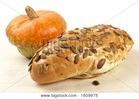 Pumpkin Bread With Seeds
