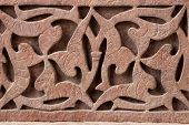 picture of swastika  - Swastika hidden by Hindu artists to fool their Muslim masters - JPG