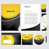 image of booklet design  - Template for Business artworks - JPG