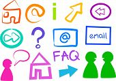 stock photo of internet icon  - internet icons and symbols - JPG