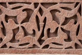 foto of swastika  - Swastika hidden by Hindu artists to fool their Muslim masters - JPG