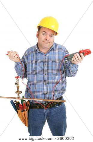 Electrician Confused By Plumbing