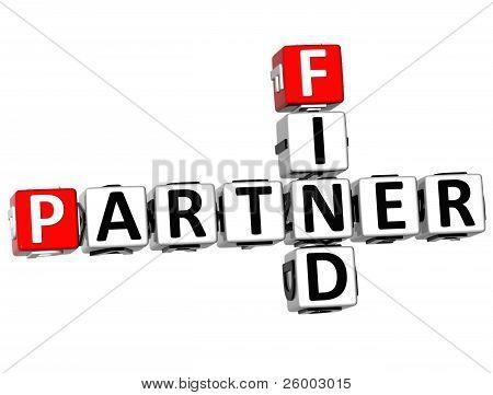 3D Find Partener Crossword