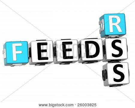 3D Feeds Rss Crossword