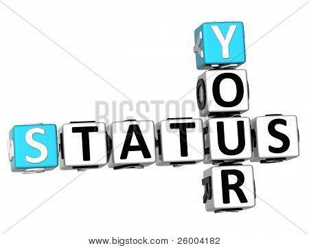 3D Your Status Crossword