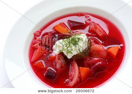 Borsch , Borscht , Russian Beetroot Soup