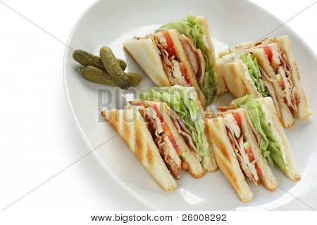 club sandwich , clubhouse Sandwich