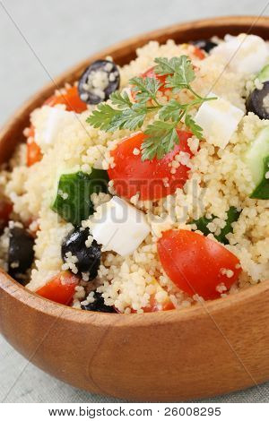 couscous salad , kuskus salad