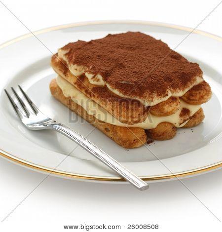 tiramisu , italian dessert