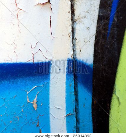 Textures, Colours and Urban Vibrance