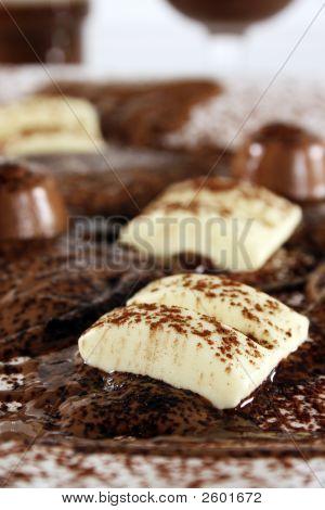 Chocolade Bonanza met witte chocolade