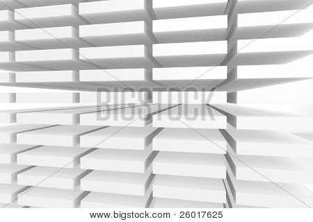 White perspective background
