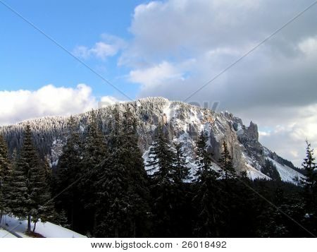 Mountain in Transylvania