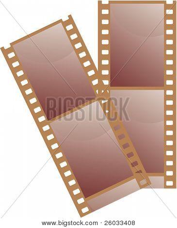 35 mm film. Vector illustration.