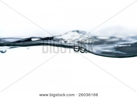 Close-up of water in motion