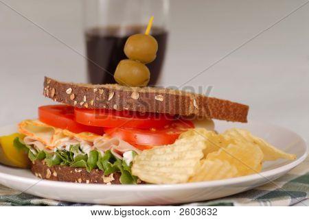 Sandwich And A Soda