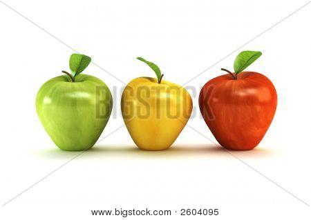 3D Apples