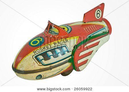 old rocket racer toy