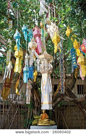 lanterns chang mai thailand