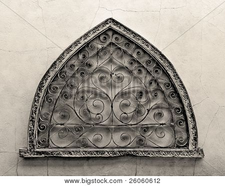 Arabic metal arch design