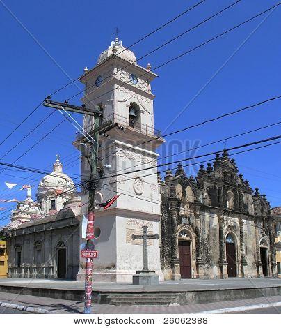 la merced church Granada Nicaragua