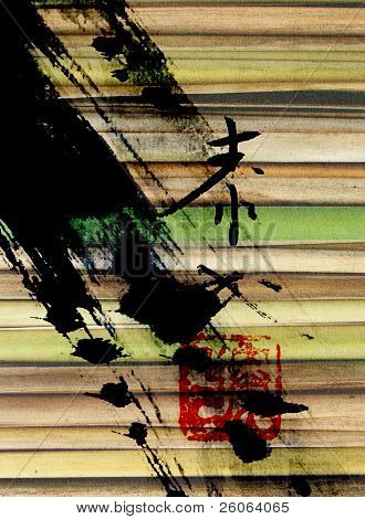 chinese abstract background